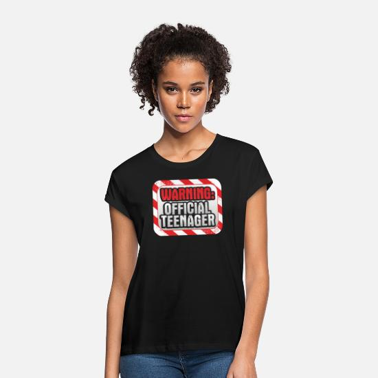 Gift Idea T-Shirts - teenager - Women's Loose Fit T-Shirt black