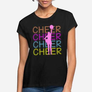 Cheerful Cheerleading - Cheer Cheer Cheer - Women's Loose Fit T-Shirt