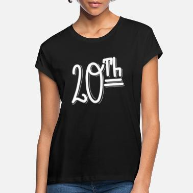 20th 20th - Women's Loose Fit T-Shirt