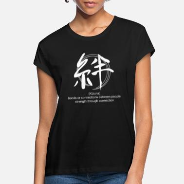Chinois Caractère chinois Japon Chine T-shirt - T-shirt oversize Femme
