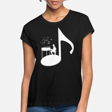 Pianist piano player piano t-shirt gift - Women's Loose Fit T-Shirt