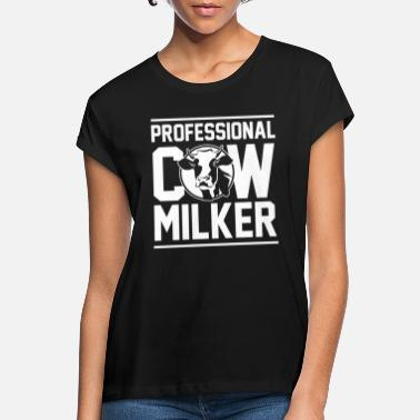 Dairy Cow Cow dairy farmer - Women's Loose Fit T-Shirt
