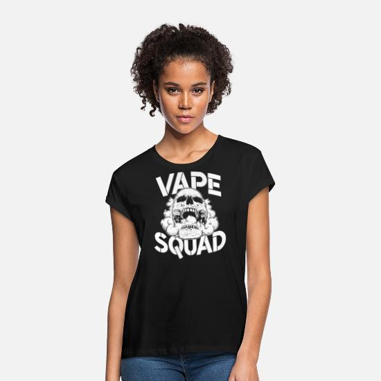 Cigarette T-Shirts - vaping - Women's Loose Fit T-Shirt black