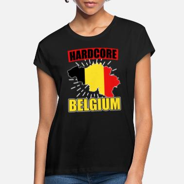 National Colours Belgium nationality national colors - Women's Loose Fit T-Shirt