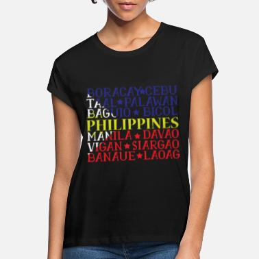 Country Filippinerne Pinoy - Oversize T-shirt dame