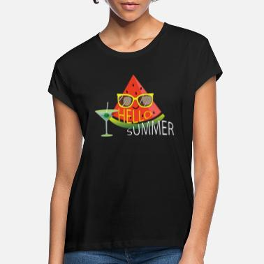 Hello Hello summer - Women's Loose Fit T-Shirt