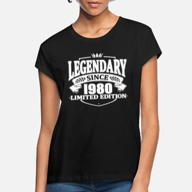 Legendär Legendär seit 1980 - Frauen Oversize T-Shirt