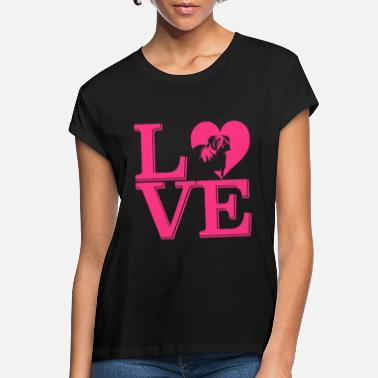 Love my dog - Women's Loose Fit T-Shirt