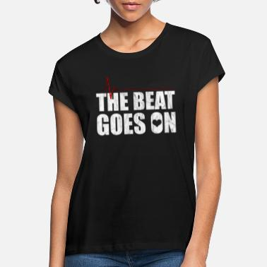 Beat Em Up Beat Em up Beats der Chirurg Herz Sponsor Arzt - Frauen Oversize T-Shirt