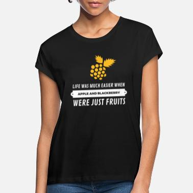 When Cell Phones Were Just Fruits! - Women's Loose Fit T-Shirt