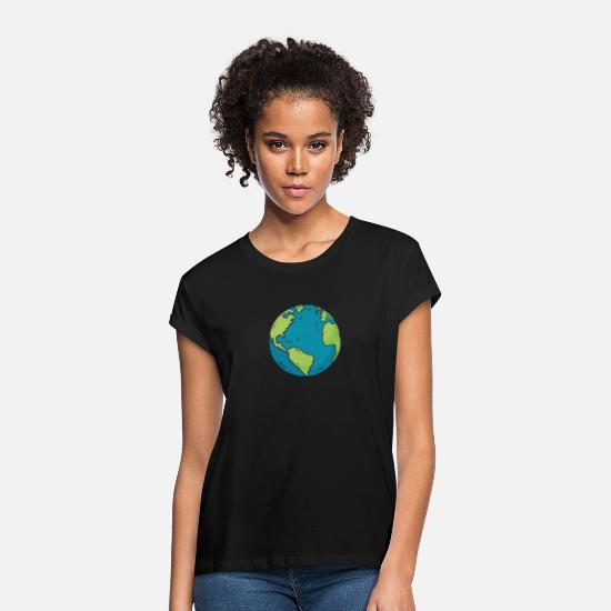 Environment T-Shirts - environment - Women's Loose Fit T-Shirt black