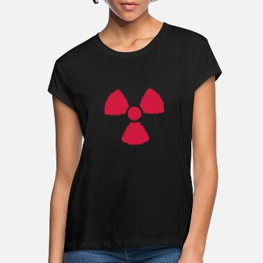 Nucleaire nucleair symbool - Vrouwen oversized T-Shirt