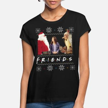 Friends X-Mas Santa Monica Holiday Armadillo - Oversize T-shirt dame