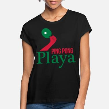 Ping Pong Player ping pong player - Women's Loose Fit T-Shirt
