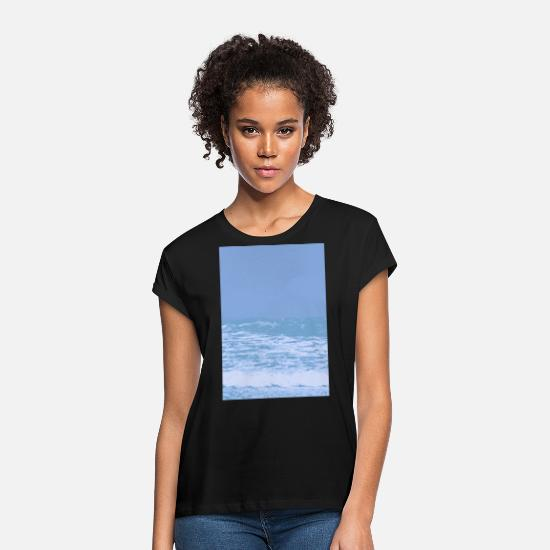 Seafood T-Shirts - sea - Women's Loose Fit T-Shirt black