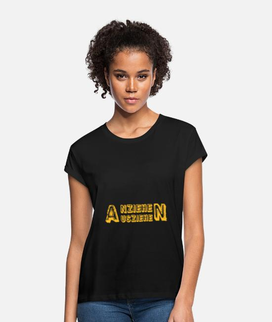 Attractive T-Shirts - remove undress - Women's Loose Fit T-Shirt black