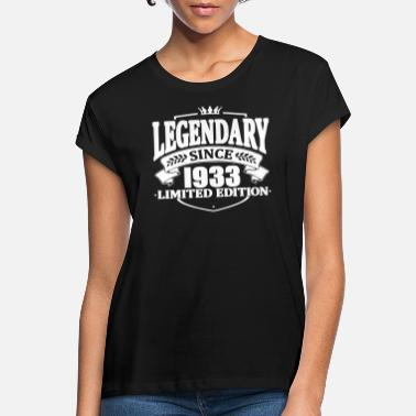1933 Legendarisk sedan 1933 - Oversize T-shirt dam