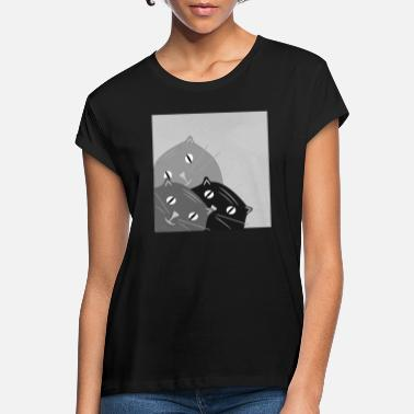 Incline inclined cat - Women's Loose Fit T-Shirt