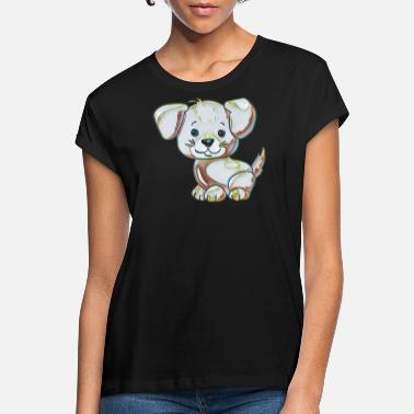 Collection For Kids Cute dog - Women's Loose Fit T-Shirt