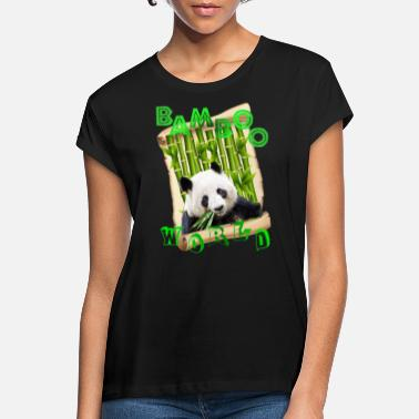 PANDA FEAST - Women's Loose Fit T-Shirt