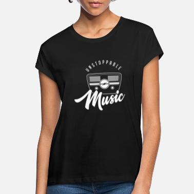 Radio Unstoppable Music - Musik Radio - Frauen Oversize T-Shirt