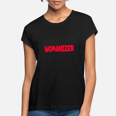 Womanizer 2527 Womanizer - Frauen Oversize T-Shirt