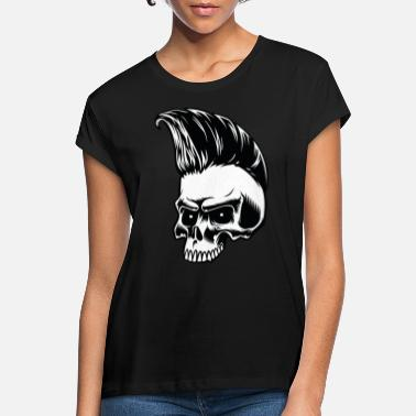 Skull Skull, Punk, Skull - Women's Loose Fit T-Shirt