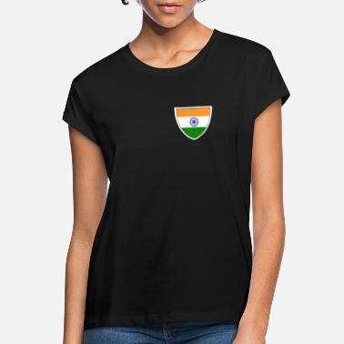 Poona India Tas Native American Country Pride Indian - Vrouwen oversized T-Shirt