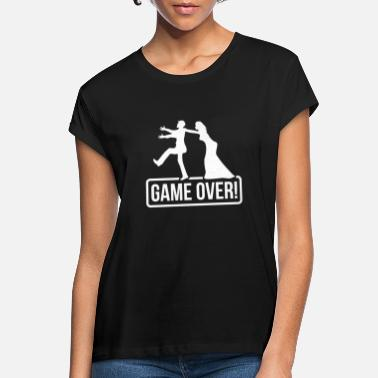 Game Over JGA Game over Bride Groom - Women's Loose Fit T-Shirt