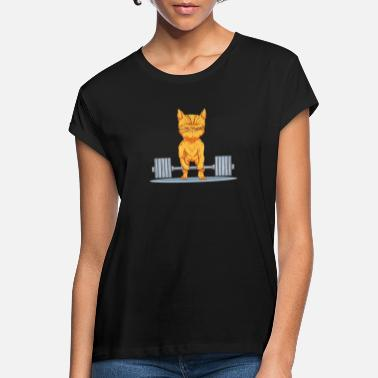 Lifting Workout cat - Women's Loose Fit T-Shirt