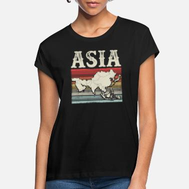 Continent Asia continent - Women's Loose Fit T-Shirt