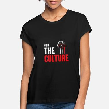 Culture Pour la culture - T-shirt oversize Femme