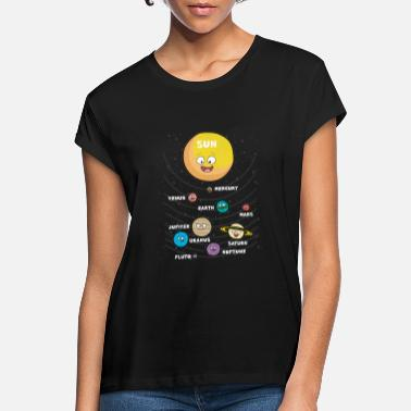 Planet Kids sun planet planets solar system - Women's Loose Fit T-Shirt