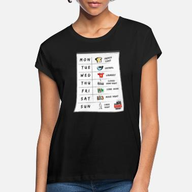 Cooper The Big Bang Theory Sheldons Kalender Teenager T-S - Frauen Oversize T-Shirt