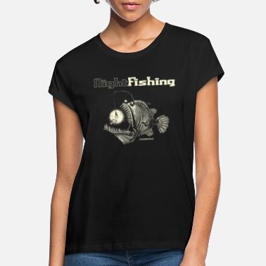 night fishing - Camiseta holgada mujer