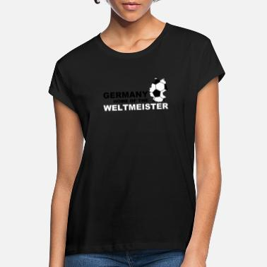 Straff germany home of the weltmeister - Oversize T-shirt dam