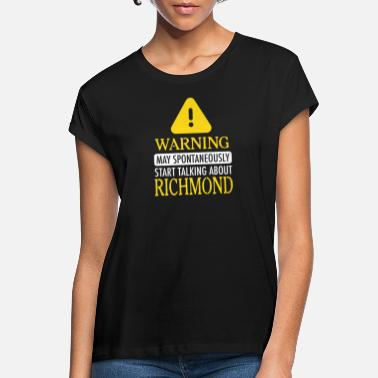 Richmond ATTENTION! : Richmond - T-shirt oversize Femme