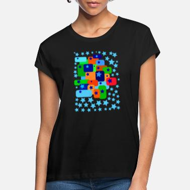 Graphic Art graphic art star - Women's Loose Fit T-Shirt