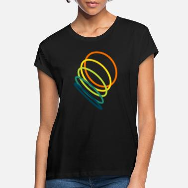 Hoop colored hula hoops - Women's Loose Fit T-Shirt