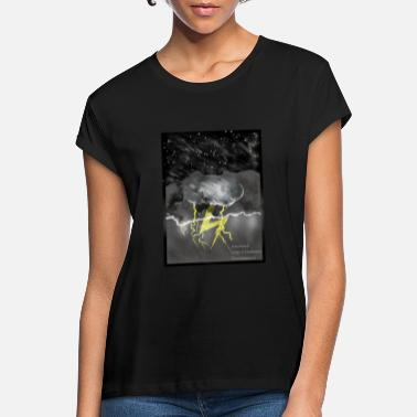 Storm storm - Vrouwen oversized T-Shirt
