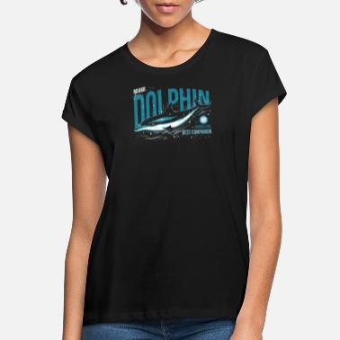 Miami Dolphins Dolphin Miami vintage style - Women's Loose Fit T-Shirt