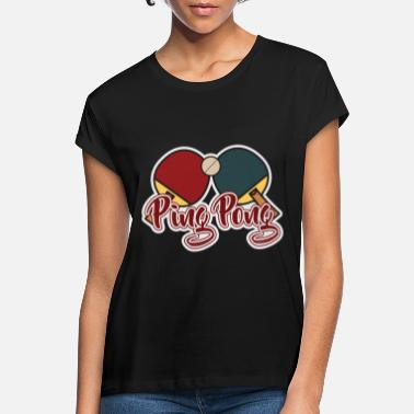 Ping Pong Ball Ping-pong - Women's Loose Fit T-Shirt