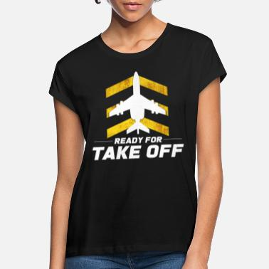 Despegue Despegue de avion - Camiseta holgada mujer
