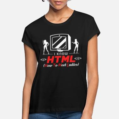 Html HTML - Women's Loose Fit T-Shirt