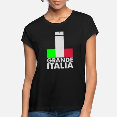 Italy Underwear Italia Italy flag - grande italia - provocative - Women's Loose Fit T-Shirt