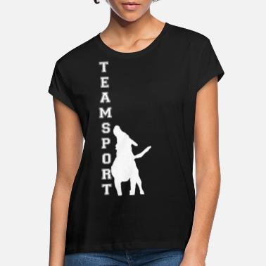 Teamsport Teamsport Design - Frauen Oversize T-Shirt