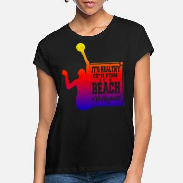 Beachvolleyboll beachvolleyboll - Oversize T-shirt dam