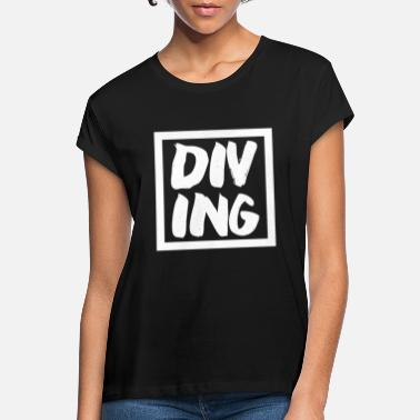 Undergrund Dykning dykning - Oversize T-shirt dame