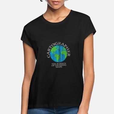 Cartography Cartography world - Women's Loose Fit T-Shirt