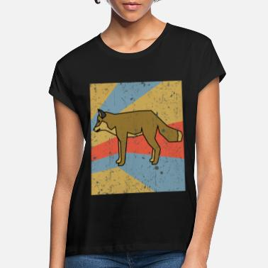 Smart Fox Retro Vintage - Oversize T-shirt dame
